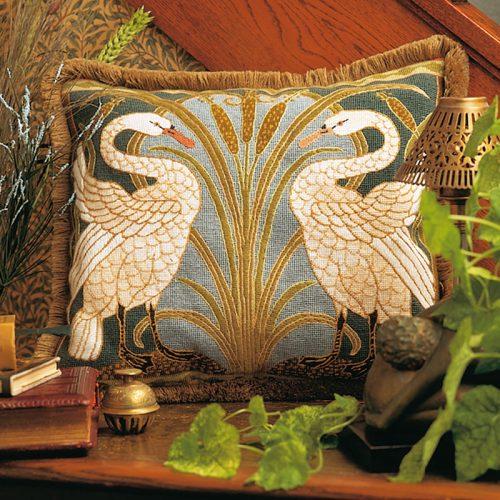 Swans Cushion