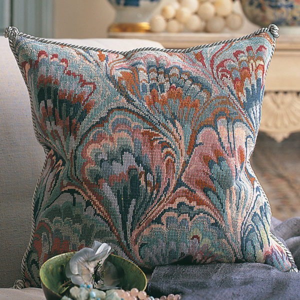 Marbled Cushion