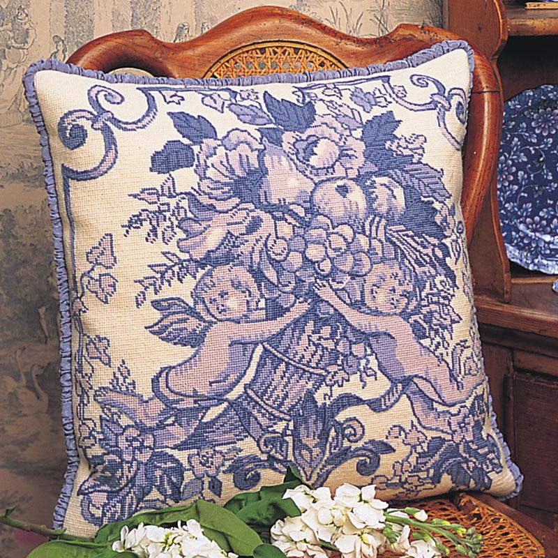 Toile De Jouy (Blue)