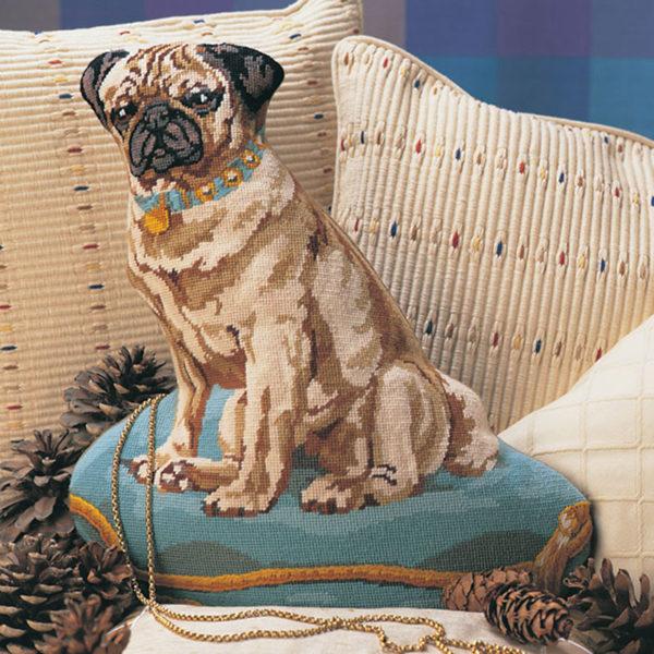 Turquoise Pug