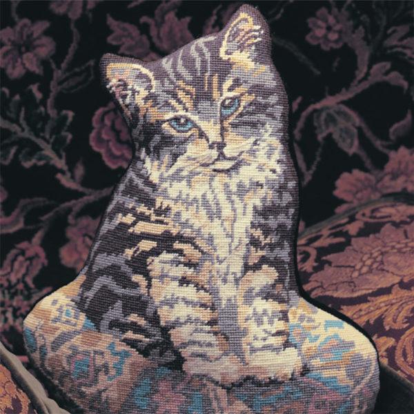 Kitten on a Cushion