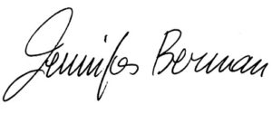 Jennifer Berman Autograph