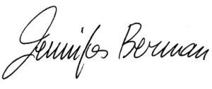 Jennifer Berman Autograph