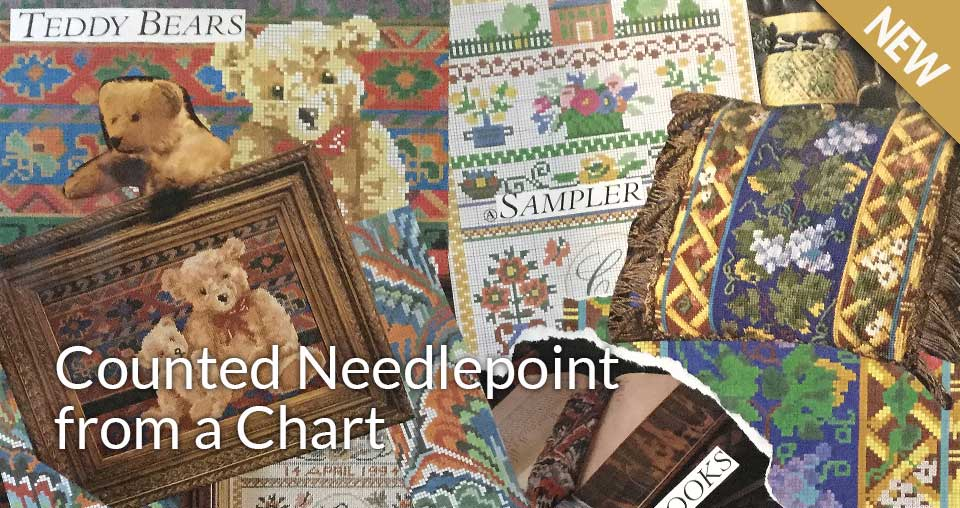 Counted Needlepoint from a Chart