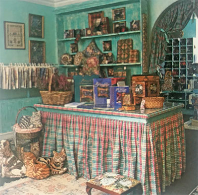 Glorafilia shop interior