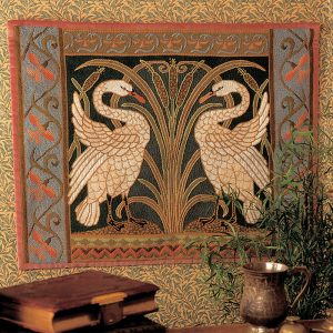 Swans Wallhanging