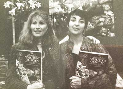 Jennifer and Carole at the book launch